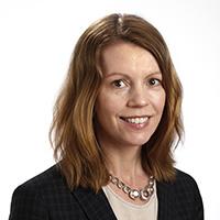 Porträttbild på Anna Porelius. Foto: Lasse Modin.